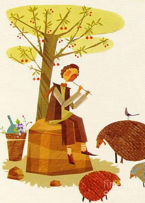 Sour Drawing - Sheeps by Sara