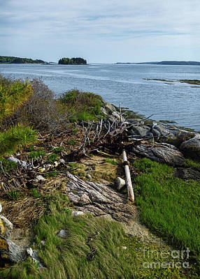 Photograph - Sheepscot River, Boothbay, Maine  -70669 by John Bald