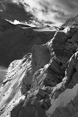 Photograph - Sheer Alps by Neil Shapiro