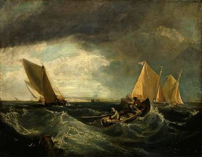 Sheppey Painting - Sheerness And The Isle Of Sheppey by Wall Callcott