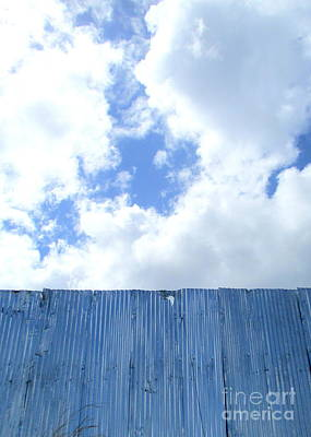 Photograph - Sheet Metal Sky 1 by Randall Weidner