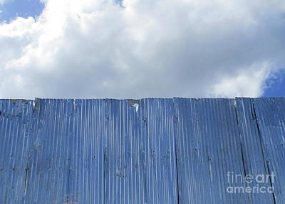 Photograph - Sheet Metal Sky 2 by Randall Weidner