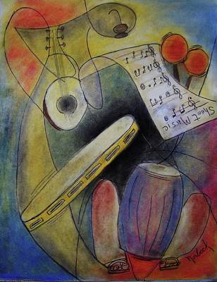 Painting - Sheet Music by Thomas J Norbeck