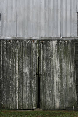 Photograph - Sheeting Door by Dylan Punke
