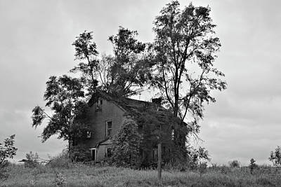 Photograph - Sheffield House Bnw by Bonfire Photography