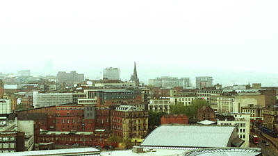 Photograph - Sheffield Skyline by Anne Kotan