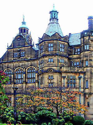 Photograph - Sheffield Town Hall 3 by Dorothy Berry-Lound