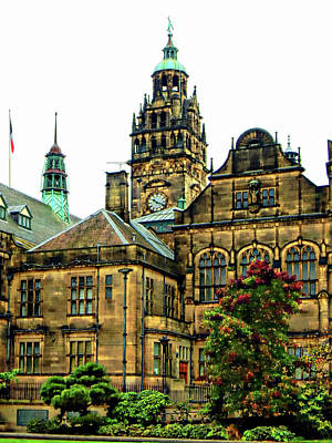 Photograph - Sheffield Town Hall 4 by Dorothy Berry-Lound