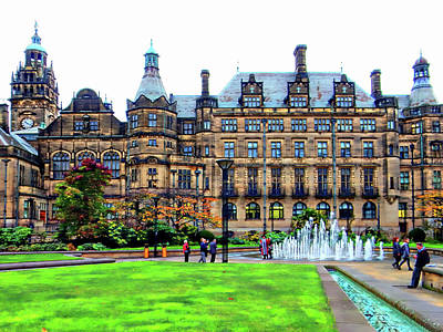 Photograph - Sheffield Town Hall 5 by Dorothy Berry-Lound