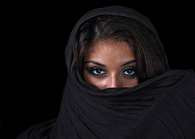 Portraits Royalty-Free and Rights-Managed Images - Sheherazade by Joachim G Pinkawa