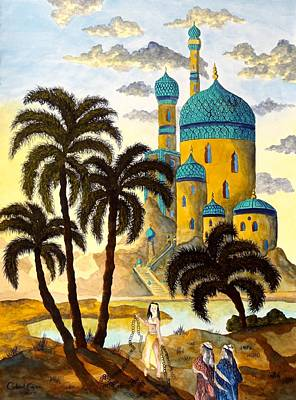 Painting - Shehriyar And Shahzeman by Gabriel Cajina