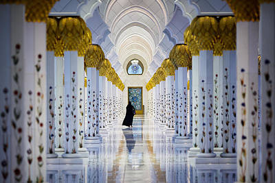 Sheikh Zayed Grand Mosque Art Print