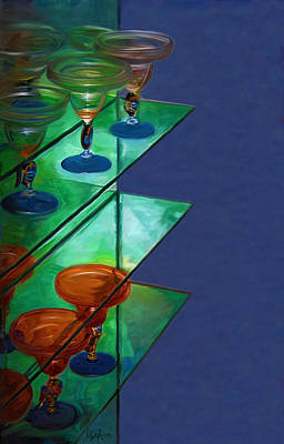 Digital Art - Sheilas Margaritas by Holly Ethan