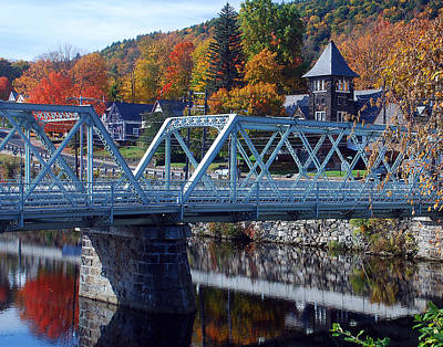 Photograph - Shelburne Falls by Mark Wiley