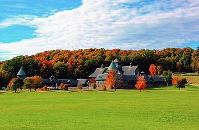 Shelburne Falls Photograph - Shelburne Farm Vermont by William Alexander
