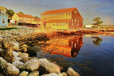 Photograph - Shelburne, Nova Scotia by Tatiana Travelways
