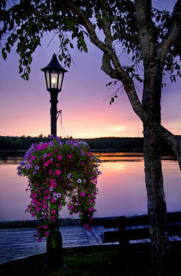 Photograph - Shelburne Sunset by Carolyn Derstine