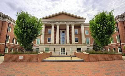 Photograph - Shelby Center Auburn University by JC Findley