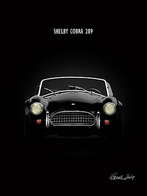 Shelby Cobra 289 Art Print