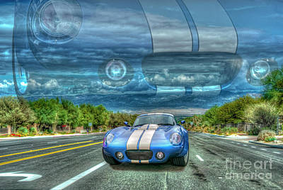 Photograph - Shelby Cobra Daytona Coupe 1965 by David Zanzinger