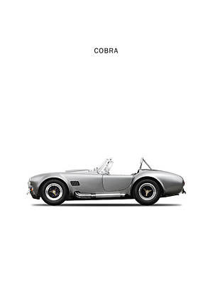 Cobra Wall Art - Photograph - Shelby Cobra by Mark Rogan