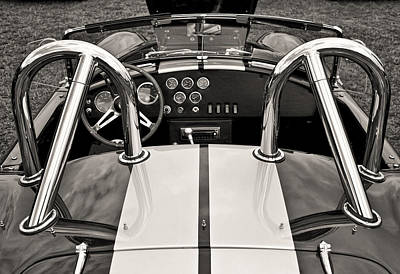 Shelby Cobra Art Print by Scott Wood