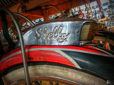 Photograph - Shelby Cycle Company by Linda Unger