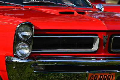 Photograph - Red Gto by Dean Ferreira