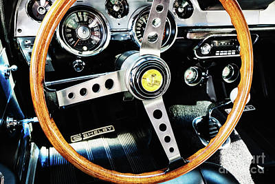 Photograph - Shelby Gt350 Interior by M G Whittingham