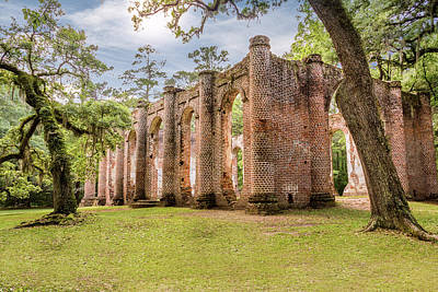 Church Ruins Photograph - Sheldon Church Ruins by Drew Castelhano