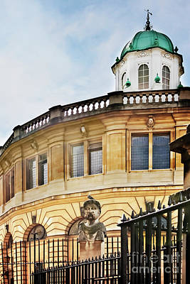 Photograph - Sheldonian Theatre Oxford by Terri Waters