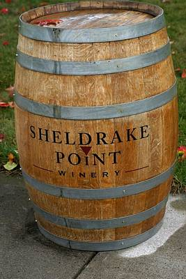 Photograph - Sheldrake Point Winery by Living Color Photography Lorraine Lynch