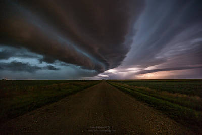 Photograph - sHELf cLoud by Aaron J Groen