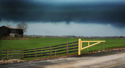 Photograph - Shelf Cloud by Ally White