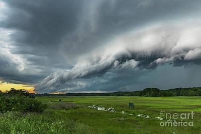 Photograph - Shelf Cloud by Joshua Blash