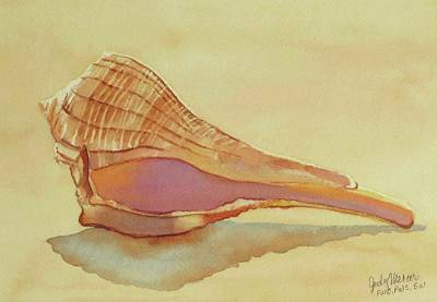 Painting - Shell 5 by Judy Mercer