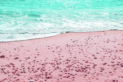 Photograph - Shell Beach Reimagined by Georgia Mizuleva