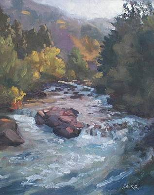 Painting - Shell Creek Study by Todd Derr