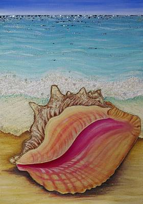 Shell From Atlantis Original by Claire Johnson