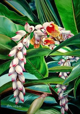 Shell Ginger Art Print