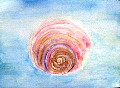 Painting - Shell by Jamie Frier