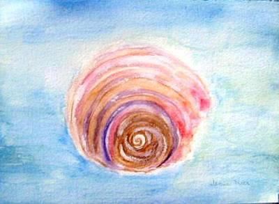 Shell Art Print by Jamie Frier