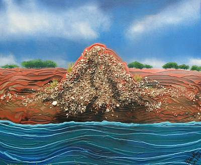 Painting - Shell Mound by Joan Stratton