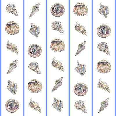Painting - Shell Pattern by John Keaton