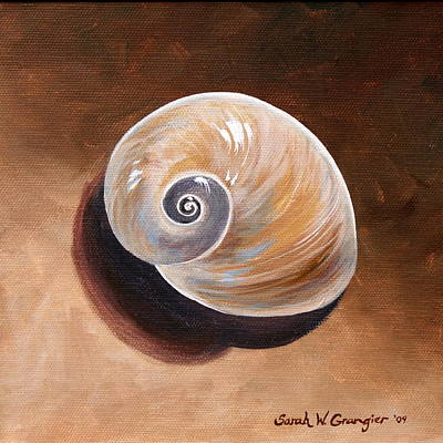 Painting - Shell by Sarah Grangier