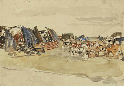 Painting - Shelled Nissan Huts by Frederick Varley