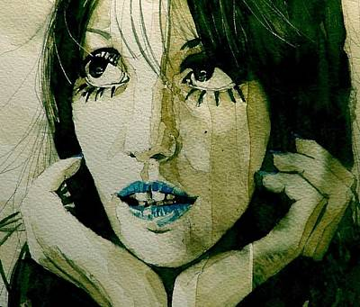 Actress Wall Art - Painting - Shelley Duvall  by Paul Lovering