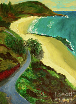 Art Print featuring the painting Shelly Beach by Paul McKey
