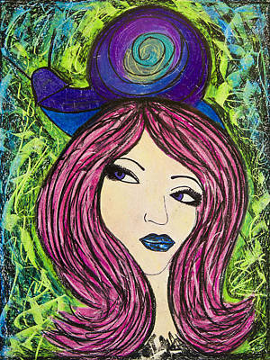 Painting - Shelley's New Hat by Christine Regan Lake