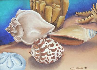 Shells Art Print by Katiana Valdes